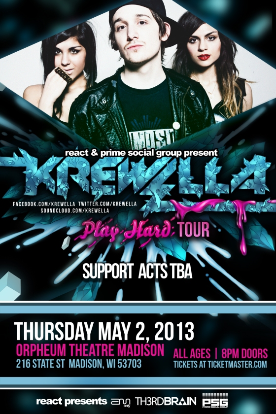 krewella madison